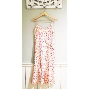 Tommy Hilfiger floral midi dress